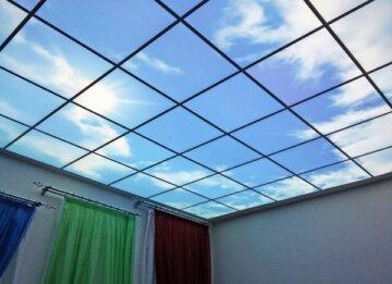 Световые потолки с фотопечатью