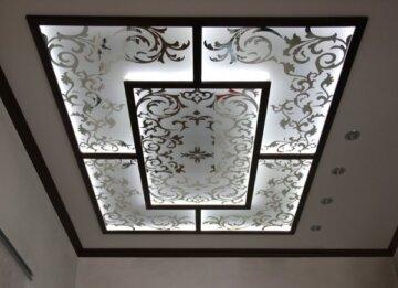 Зеркальные световые потолки
