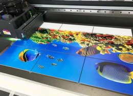 Печать на кафеле, мраморе и граните